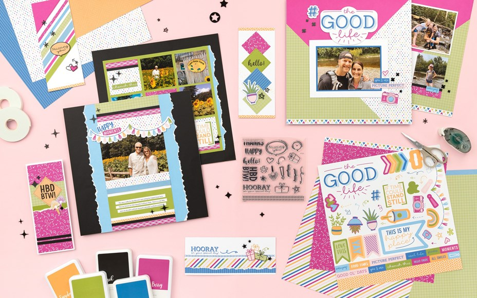 Projects Created with Hip Hip Hooray Kit