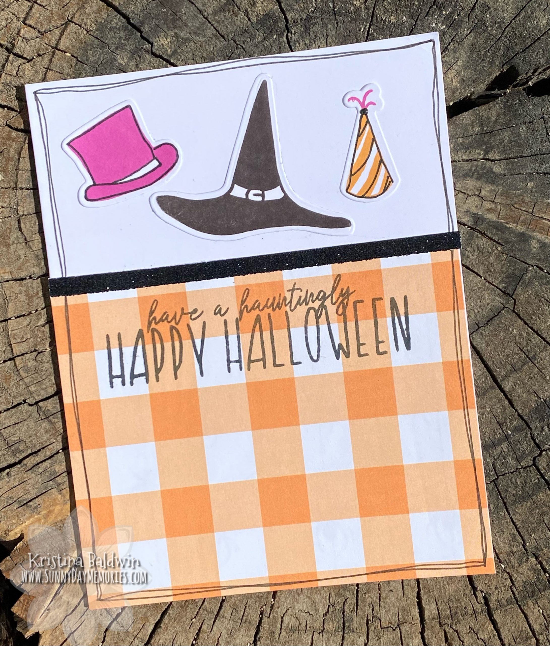 CTMH Hauntingly Happy Halloween Card