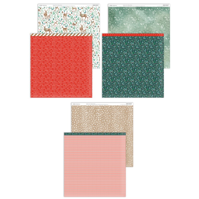 CTMH Holly & Ivy Paper Collection
