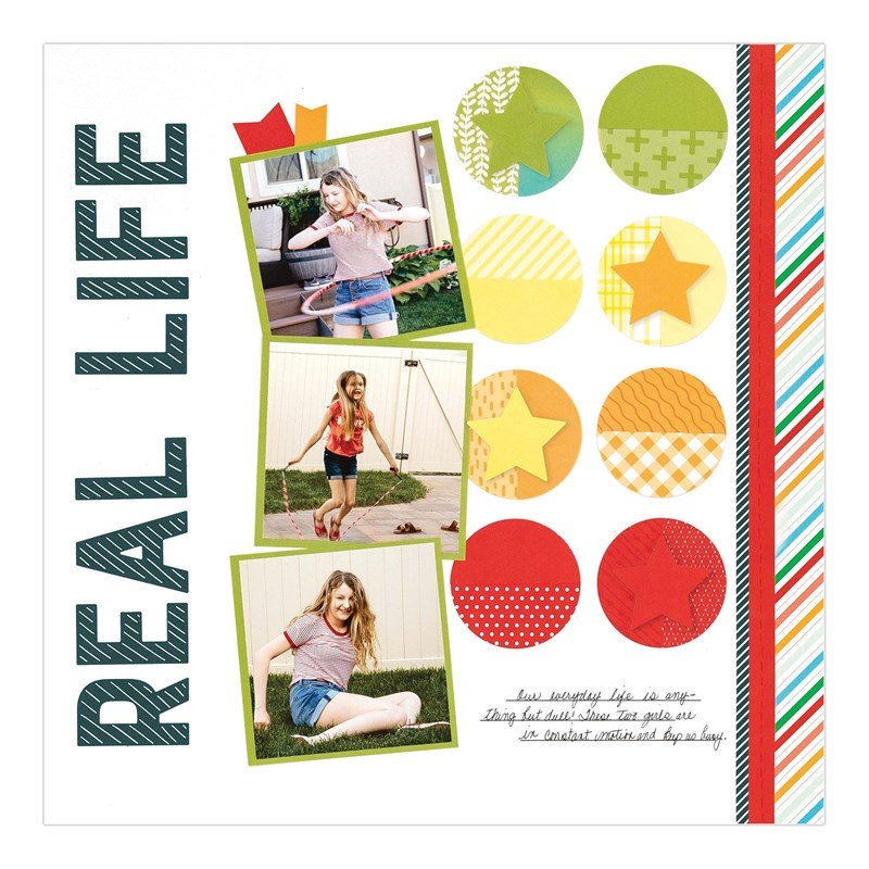 CTMH Real Life Remember Today Layout