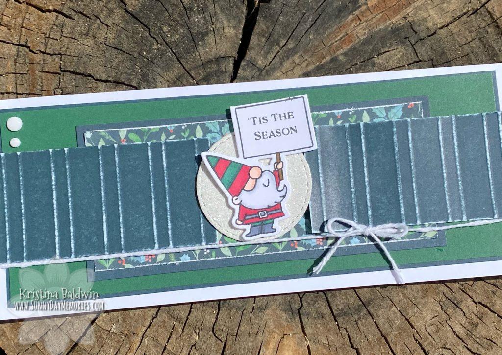 'Tis the Season Slimline Card